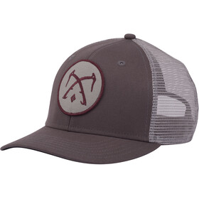 Black Diamond Trucker Hat slate-nickel